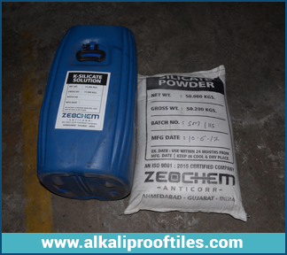 SODIUM SILICATE MORTAR