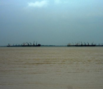 view_of_ships_from_kakinada_beach