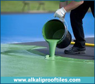 CHLORINATED RUBBER PAINT